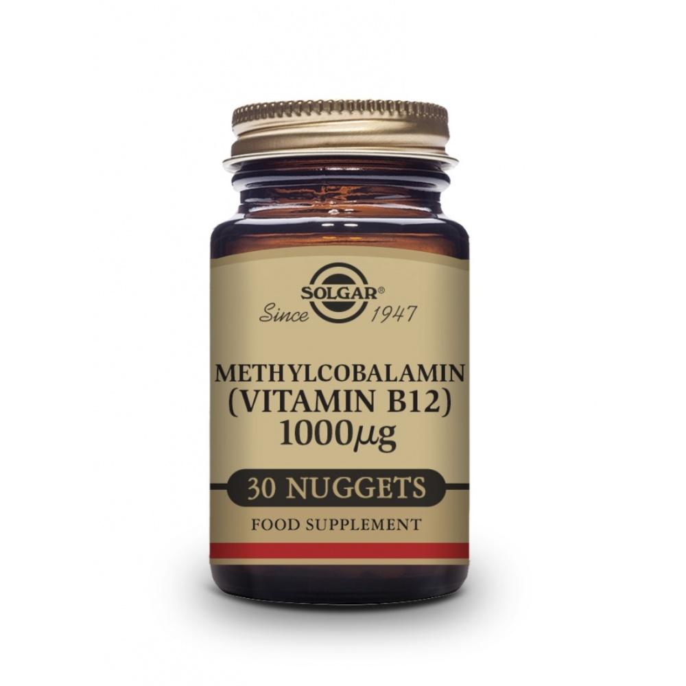 SOLGAR VIT. B12 METILCOBALAMINA 30 COMP