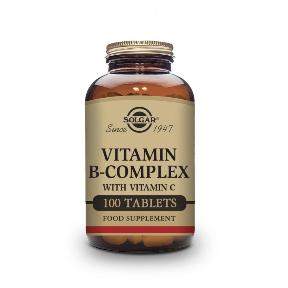 SOLGAR B-COMPLEX VIT C