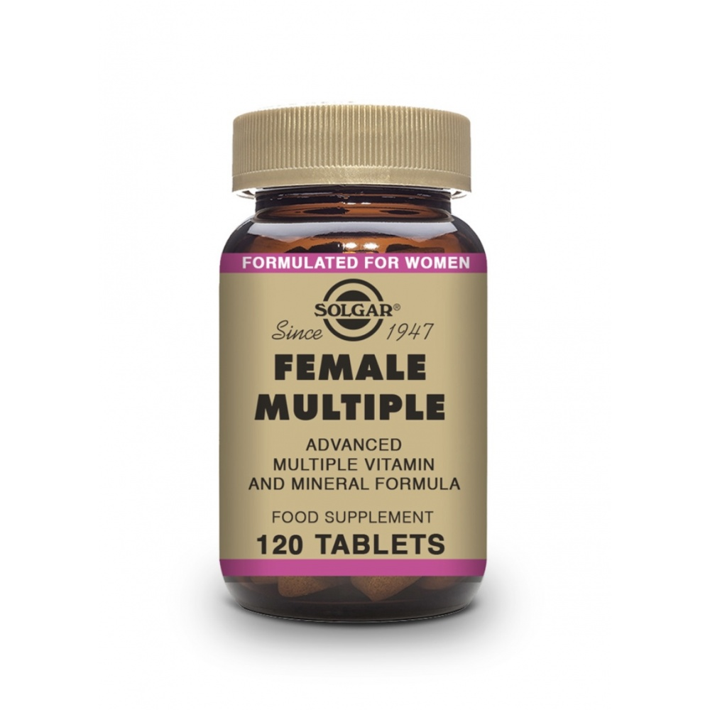SOLGAR FEMALE MULTIPLE 120