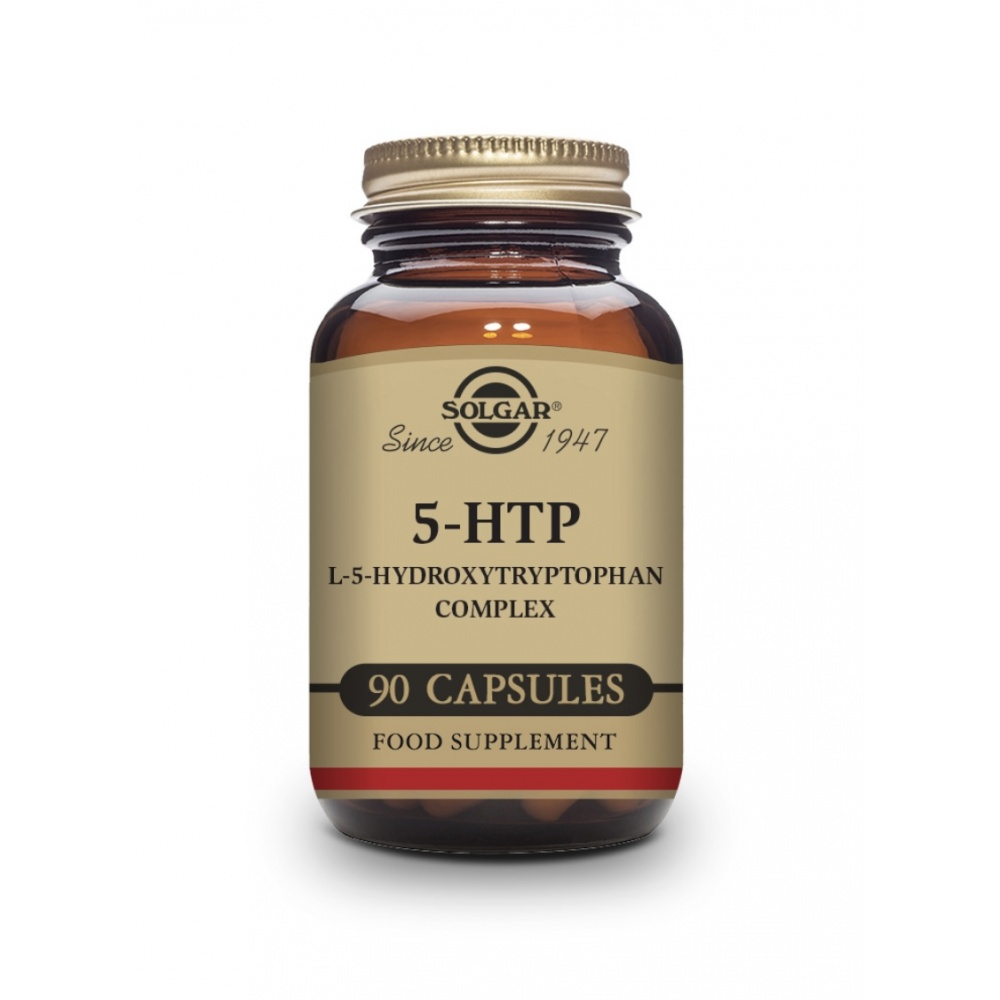 SOLGAR 5-HIDROXITRITOFANO 5-HTP 90 CAP.