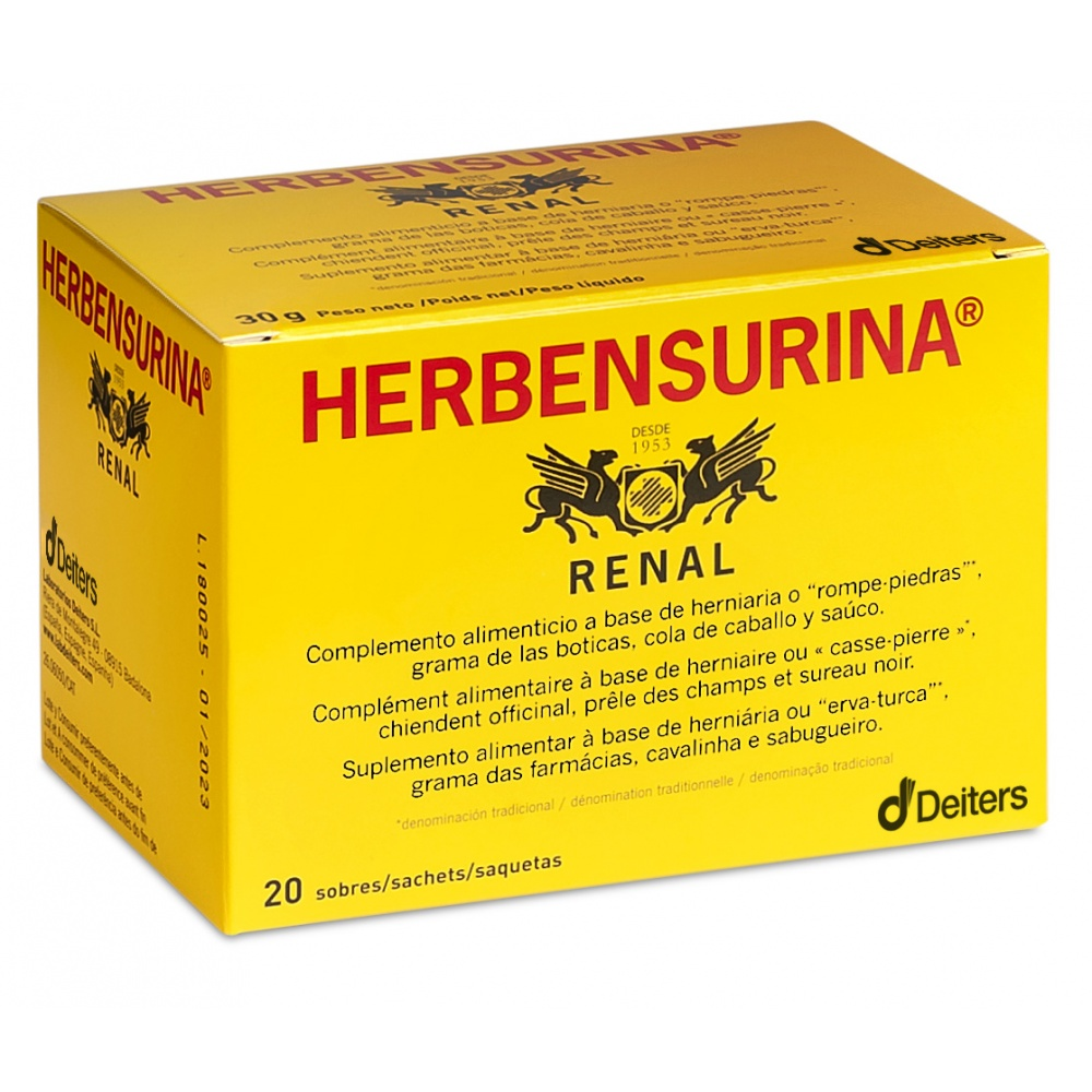DEITERS HERBENSURINA NATURA 20 SOBRES
