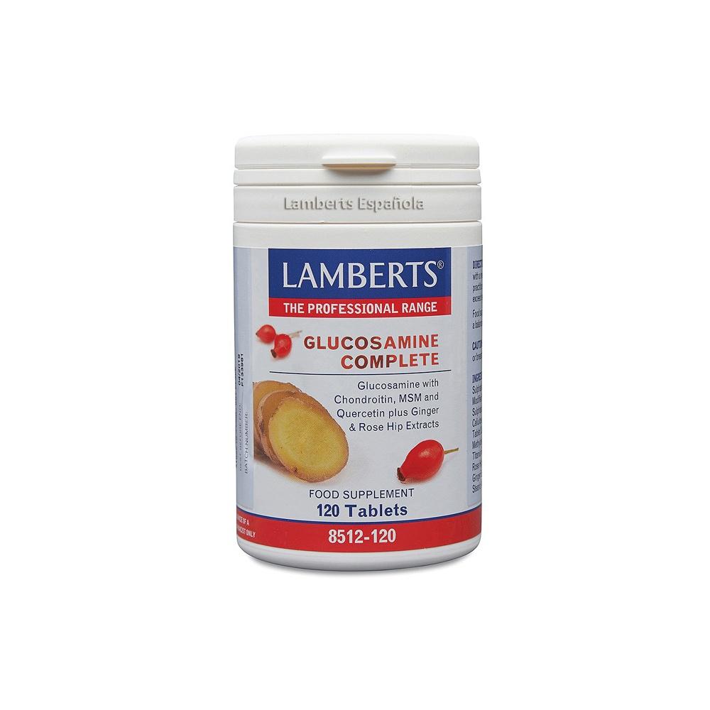 LAMBERTS GLUCOSAMINA COMPLETA 120 T