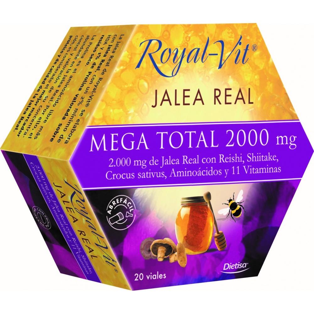 DIETISA ROYAL VIT JALEA REAL MEGA TOTAL 2000 MG