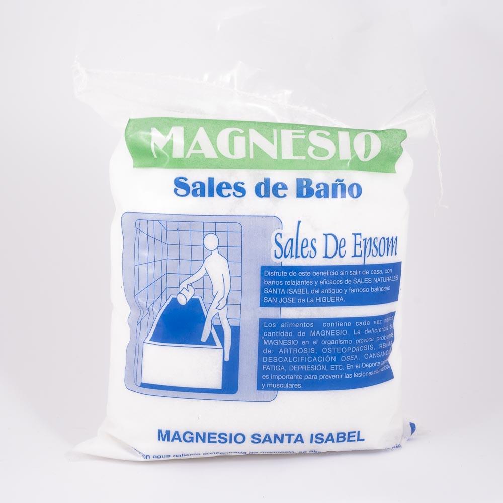 SANTA ISABEL SALES MAGNESIO BOLSA 4 A 5 K