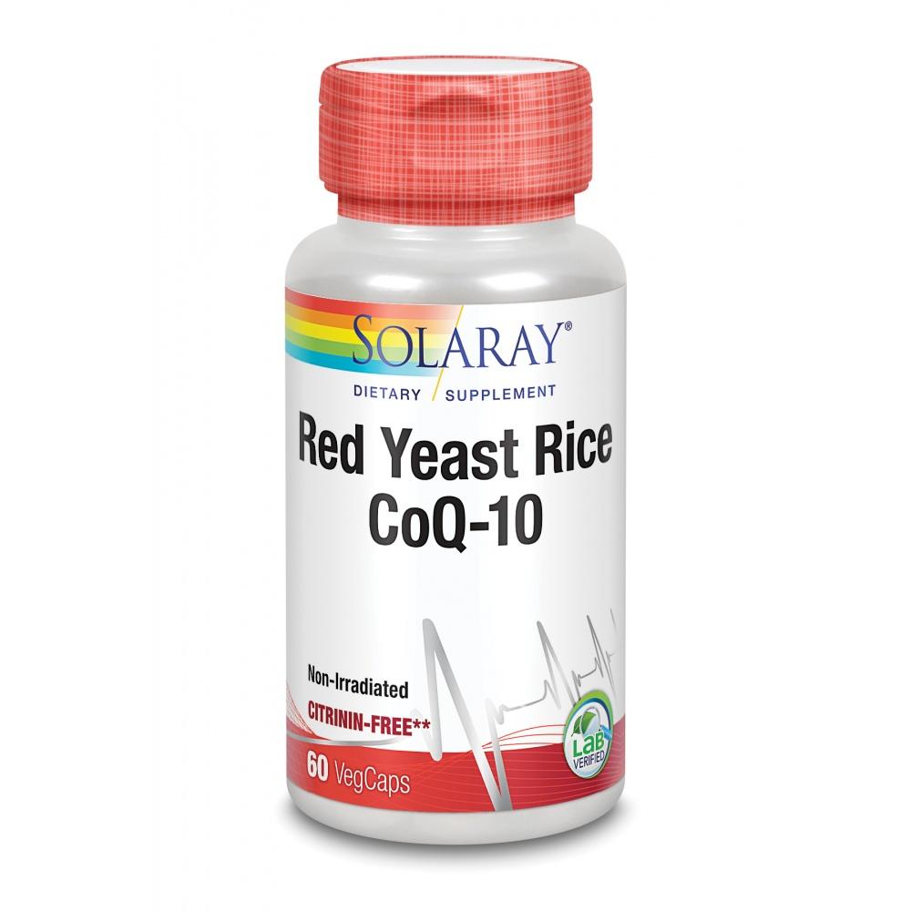 SOLARAY RED YEAST RICE PLUS Q10 60 C