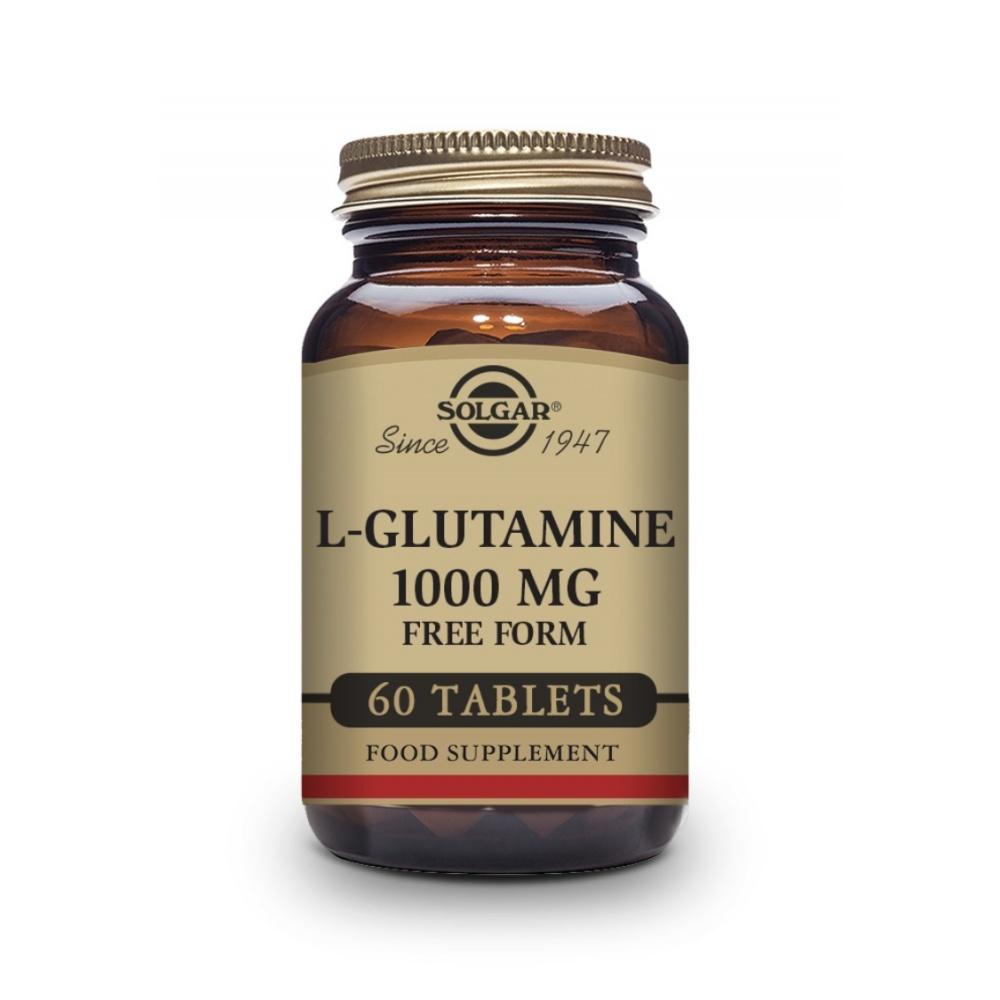 SOLGAR L-GLUTAMINA 1000MG 60 C