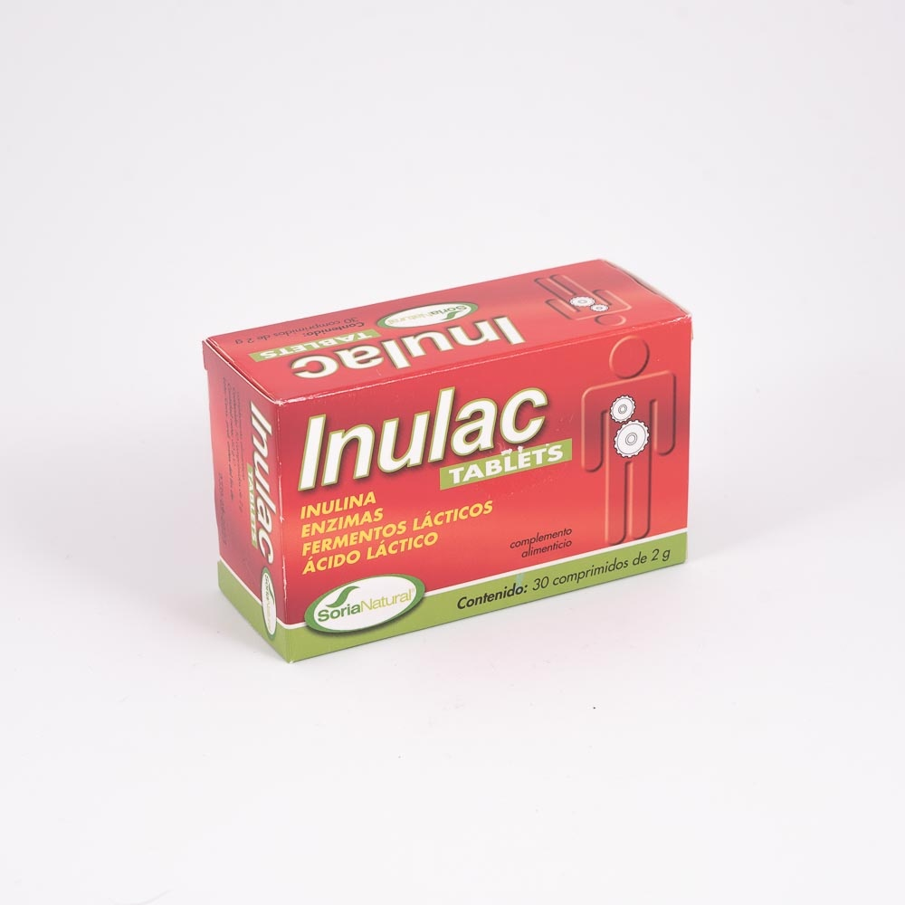 SORIA NATURAL INULAC TABLETS