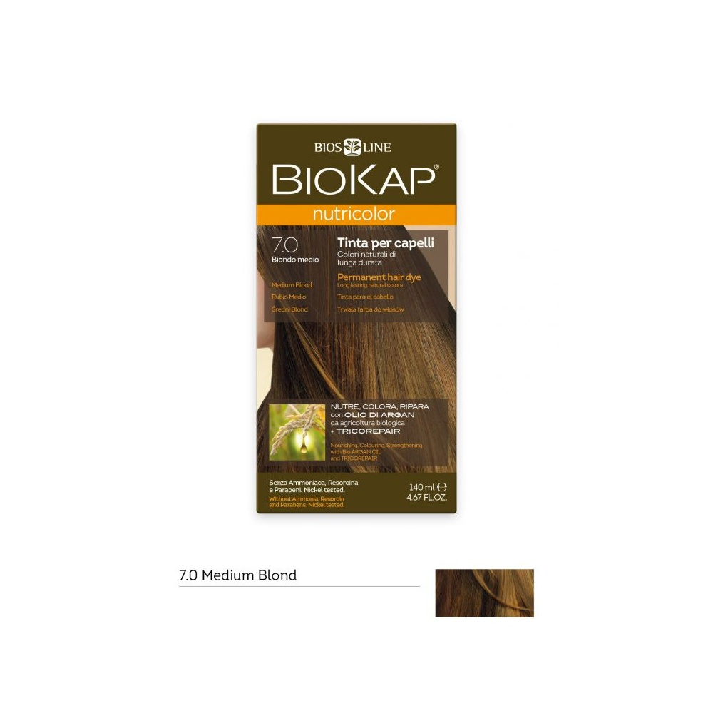 BIOKAP 7.0 RUBIO MEDIO