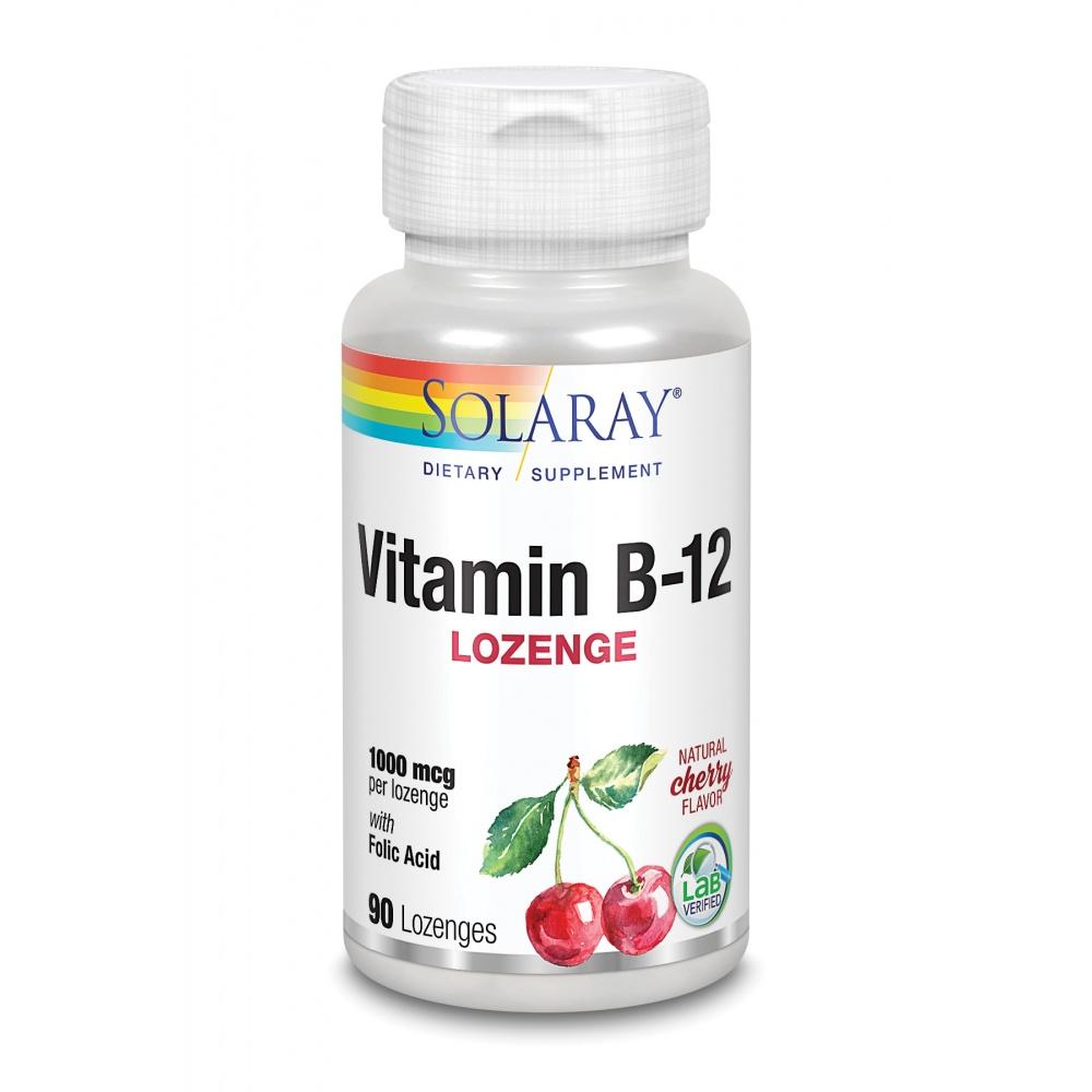 SOLARAY vitamina B12 1000 MCG