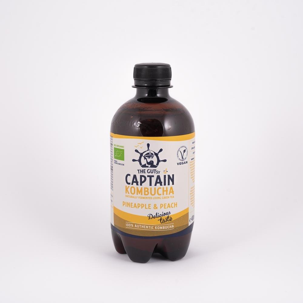 CAPTAIN KOMBUCHA PINEAPLE 400 ml