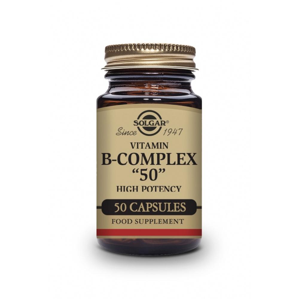 SOLGAR B-COMPLEX 50 50 CAP.