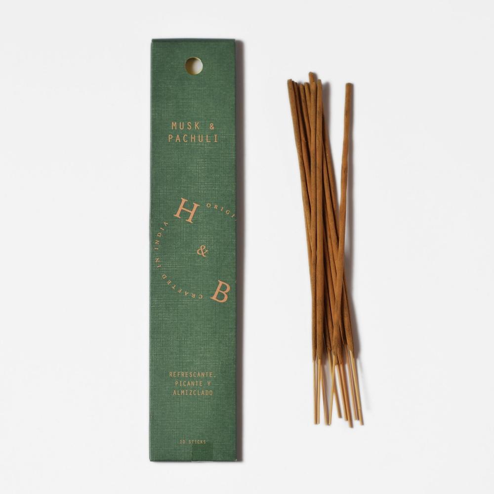 H&B INCIENSO MUSK&PACHULI