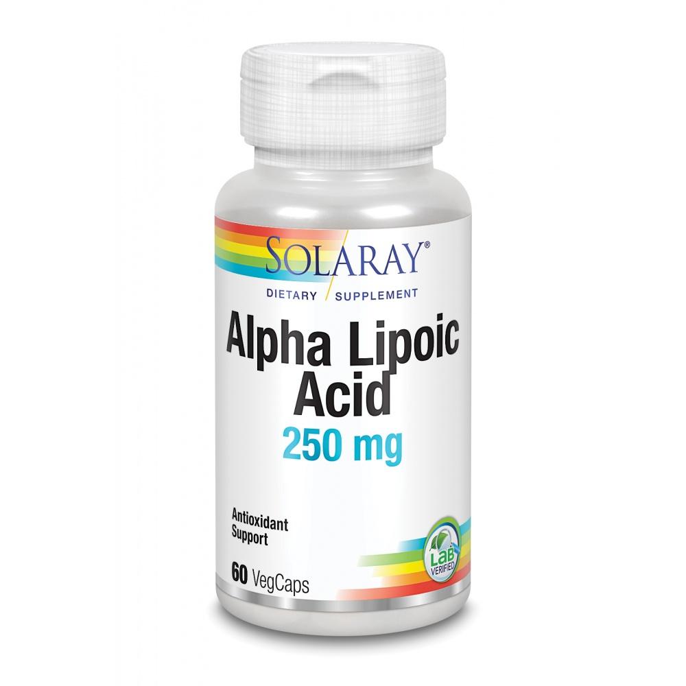 SOLARAY ALPHA LIPOIC ACID 250 MG