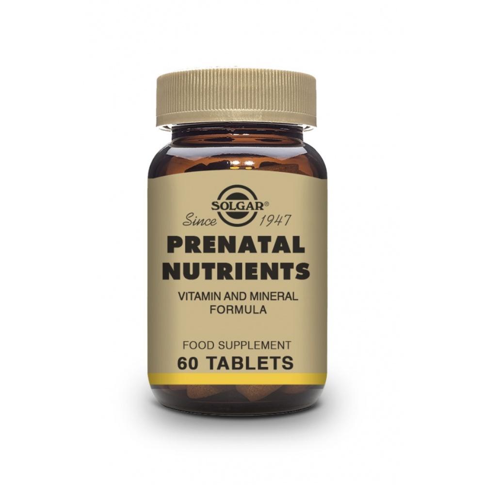 SOLGAR NUTRIENTES PRENATALES 60 T